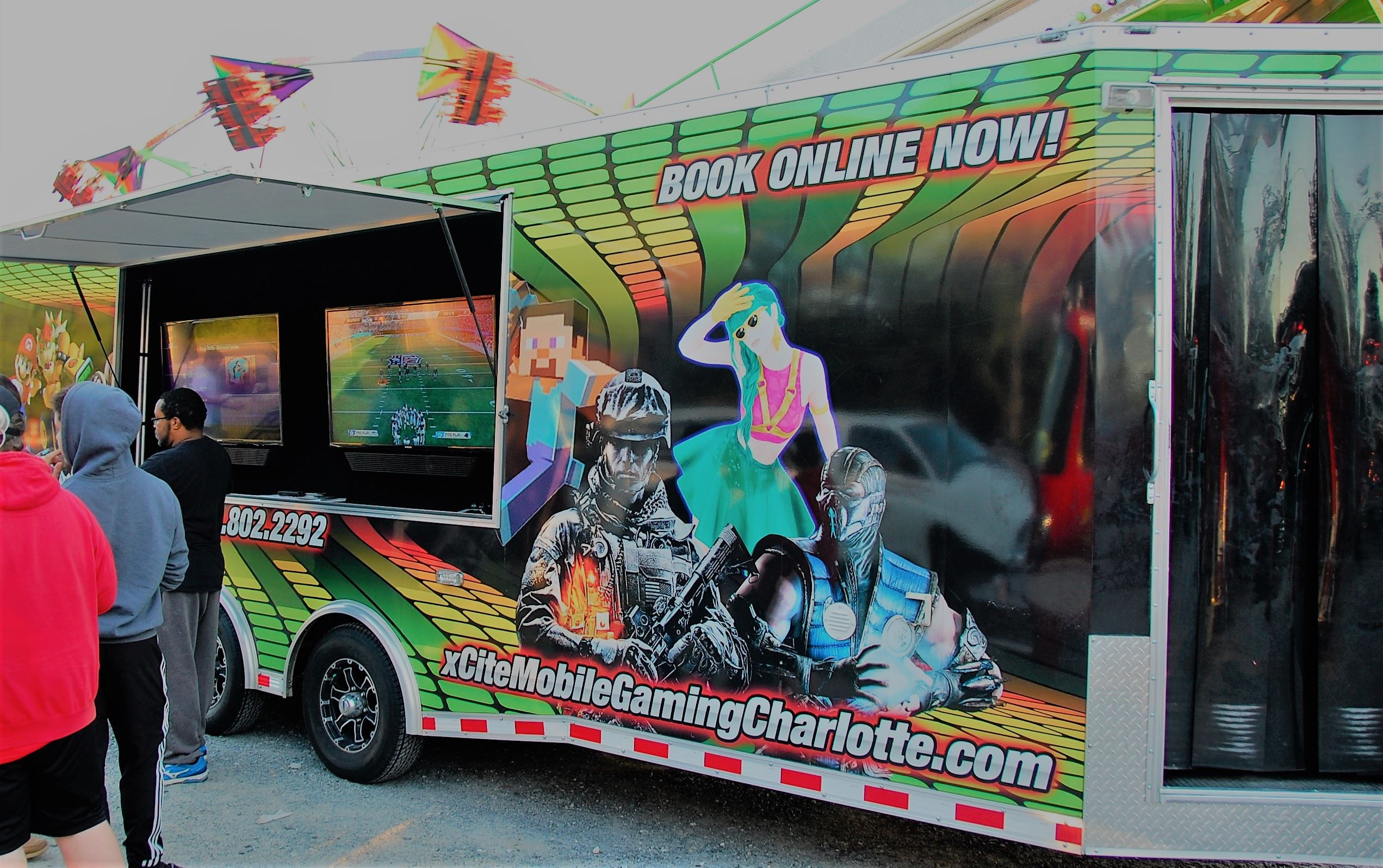 XCite Mobile Gaming Truck