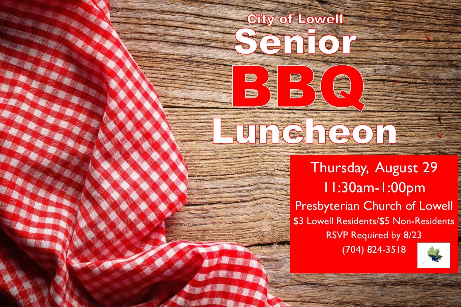 Senior BBQ Luncheon