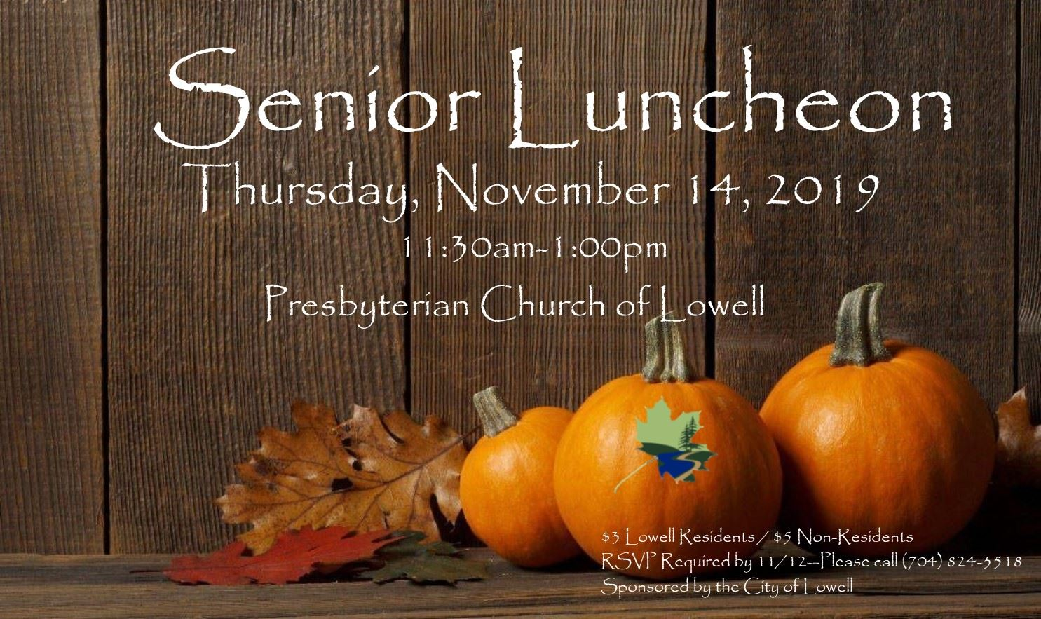 Thanksgiving Senior Luncheon 2019