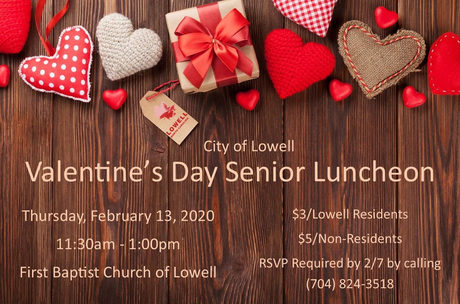 Valentines Day Senior Luncheon