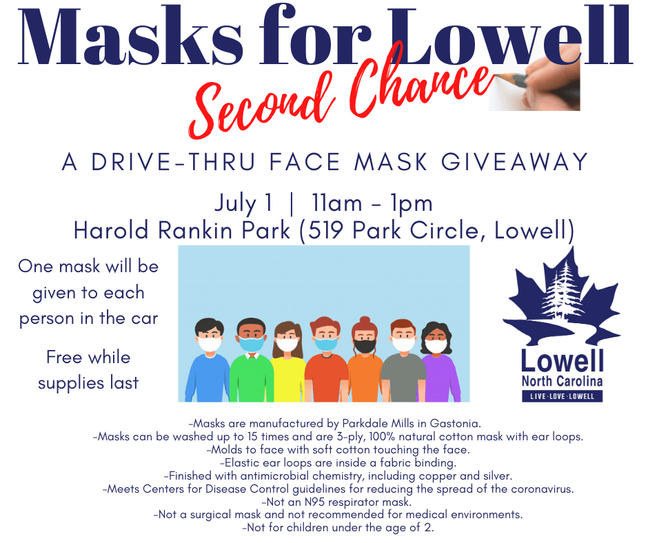 masks for lowell square